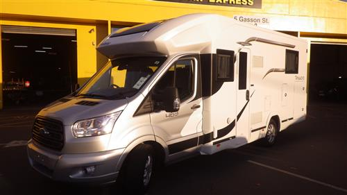 FORD TRANSIT Motorhome 2018-CURRENT