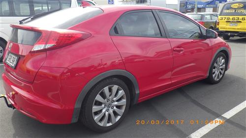 HONDA CIVIC HATCHBACK 2011-2016
