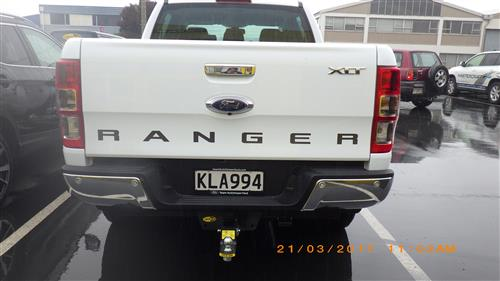 FORD RANGER UTE 2012-CURRENT